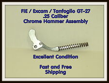 FIE Excam Tanfoglio GT-27 .25 Cal. Chrome Hammer Assembly - Fast Free Shipping
