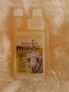 Sheepskin Numnahs cleaning and care 250ml Australian Woolskin Wool wash