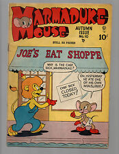 Marmaduke Mouse #10 1948 golden age comic book VG/FN