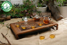 Clear Glass Chinese Gongfu Teapot Tea Set * 9 pcs