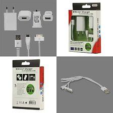 4-1 KFZ Lade Kabel Netzteil für  iPhone 3G 4G Alle Smartphone mit  Micro USB