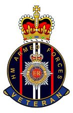 RCT Royal Corps Of Transport HM Armed Forces Veterans Clear Cling Sticker
