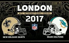 NFL Tickets & Hotel Package Dolphins Vs Saints London Wembley *Great Seats*