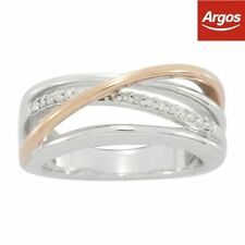 Band Excellent Cut Gold Fine Diamond Rings