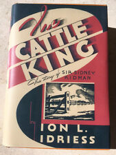 1936 rare 1st Ed - THE CATTLE KING by Ion Idriess  - FREE SHIPPING WORLDWIDE