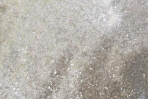 Satin White Mica Powder for lampwork bead making