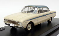 Trax 1/43 Scale Model Car TR26K - 1960 Ford XK Falcon Sedan - White/Blue