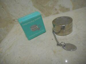 Fortnum & Mason Flower Tea Infuser Boxed 3cm x 5cm BRAND NEW