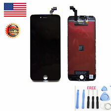 Black LCD Display Touch Screen Digitizer Framed Assembly For iPhone 6 Plus 5.5''