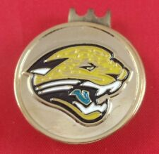 Golf HATCLIP Magnetic + Ball Mark Ballmark Ballmarker Jacksonville Jaguars NEW