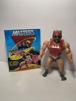 1982 Masters of the Universe Vintage He-Man MOTU Near Complete + Comic ZODAK