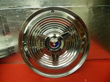 """NICE USED 63 64 Ford Galaxie 500 XL 406 427 15"""" Wheel Cover Red White Blue Crest"""