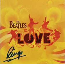 The Beatles Ringo Starr Hand Signed Love Cd Rare Paul McCartney