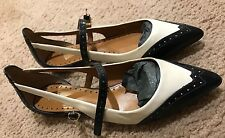 Tory Burch genuine leather upper and lining shoes US size 8.5