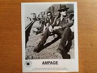 AMPAGE 8x10 BLACK & WHITE Press Photo Promotional HARD ROCK 1990's