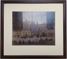 L.S Lowry COMING FROM THE MILL 1917-18 Framed Print