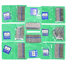 50pcs Dental Fg Diamond Burs Tooth Drills Polishing Kit For High Speed Handpiece