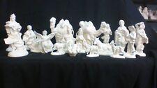 Ceramic 19 pc. Atlantic nativity set