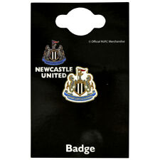 NEWCASTLE UNITED FC CREST ENAMEL CREST PIN BADGE FOOTBALL CLUB NEW XMAS GIFT