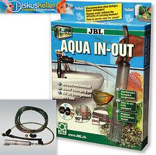 Wasserwechselset von JBL Aqua In Out - Bodenreinigung Aquarium + Gratis Probe