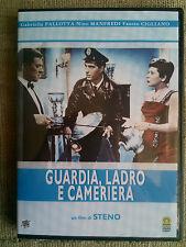 Guardia, Ladro e Cameriera - di Steno, con N. Manfredi - DVD come nuovo