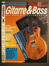 GITARRE & BASS 1995 # 4 - NUNO BETTENCOURT NGUYEN LE PAT METHENY GARY MOORE