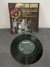 Disque 45 tours Jerry Lee Lewis - High Heel Sneakers - 434.550