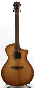 Breedlove Concerto CE Acoustic-Electric Guitar - Spruce/Mahogany - Body Cracks