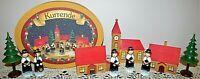 Kathe Wohlfahrt Kurrende Children's Christmas Choir German Folk Art w/ Wood Box