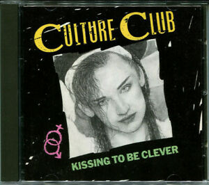 """CULTURE CLUB """"Kissing to be clever"""" Full Silver CD (Boy George) inkl. Do hurt me"""