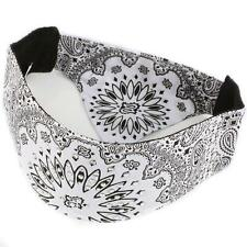 Choptop Bandana Head Doo Wrap Scarf Biker Crystal White