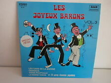 LES JOYENUX BARONS Vol 3 Les gars de la marine BOUM RECORDS b1001