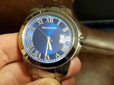 Beautiful Condition Tourneau Mens Watch Made for Acura