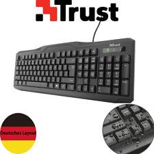 Trust ClassicLine PC Office Business Tastatur Keyboard USB Deutsches Layout