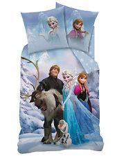 Linón Niños Ropa de cama 135/200+80/80 Frozen El reino del Hielo Sven 100%