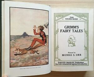Grimm's Fairy Tales Illustrated by Monro S. Orr, Undated - Near Fine w/ Jacket