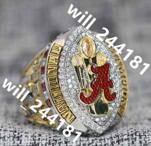Premium Series 2021 ALABAMA CRIMSON TIDE NCAA Championship ring 7-16 size