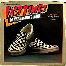 "JOE WALSH ""Waffle Stomp"" [Fast Times At Ridgemont High]  7"" 45 RPM - Promo Radio"