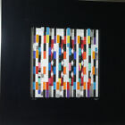 YAACOV AGAM  Agamograph Signed, Numbered and Framed 93/180