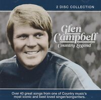 GLEN CAMPBELL COUNTRY LEGEND NEW 2 CD COLLECTION 40 GREATEST HITS BEST OF