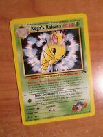NM (Unlimited) Pokemon KOGA'S KAKUNA Card GYM CHALLENGE Set 47/132 UNCOMMON