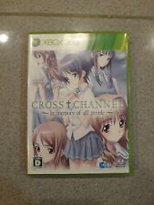 Cross Channel In memory of all people Xbox 360 Japan Import US Seller