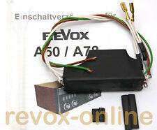 Einschaltverzögerung für Studer Revox A78 A50 Verstärker ESV A78 power on delay