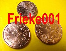 Portugal - 1,2 en 5 cent 2002 unc.