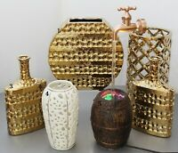Accent Decor Ceramic Vases and Magic Fountain - Your Choice!
