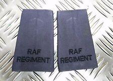 British Army/RAF Reggimento Mostrine  Di Rango Blu/Grigio Marca Usato
