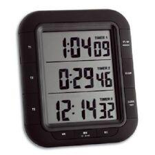 PREMIUM 3 fach gleichzeitig Timer Countdown Stoppuhr mit Magnet Uhr 1/100 sek