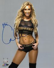 CARMELLA WWE WOMENS DIVA SIGNED AUTOGRAPH 8X10 PHOTO #4 W/ PROOF