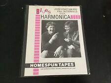 Paul Butterfield John Sebastian teach Blues Harmonica 1982 Homespun Tapes Mint