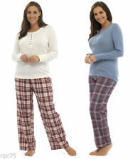 Flannel Women's Check Pyjama Sets